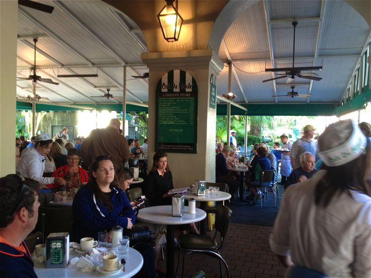 Cafe du Monde,...and ya gotta get there early!