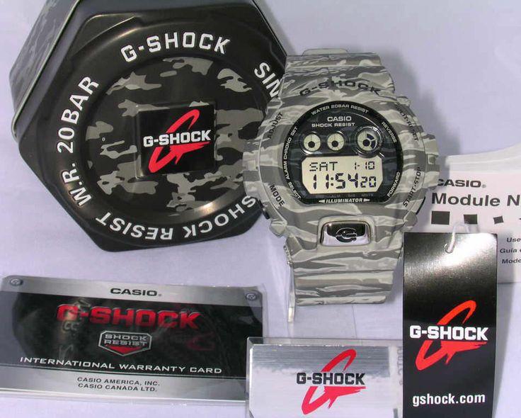 Casio G Shock watch Military Camo Grey GDX6900TC 8 Mens 200M Water Resistant #GShock #Sport