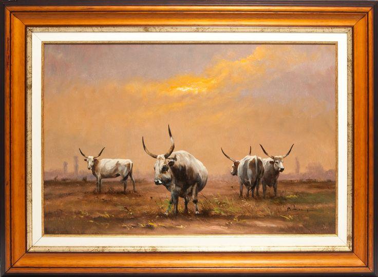 Festő: Bán Tibor  Címe:Szürke család Méret:40×60,-olaj Ára: 148 000,-Ft www.lisaelinor.hu