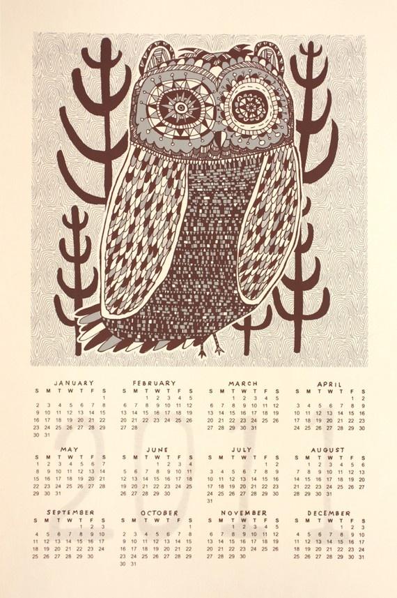 Nate Duval calendar 2011