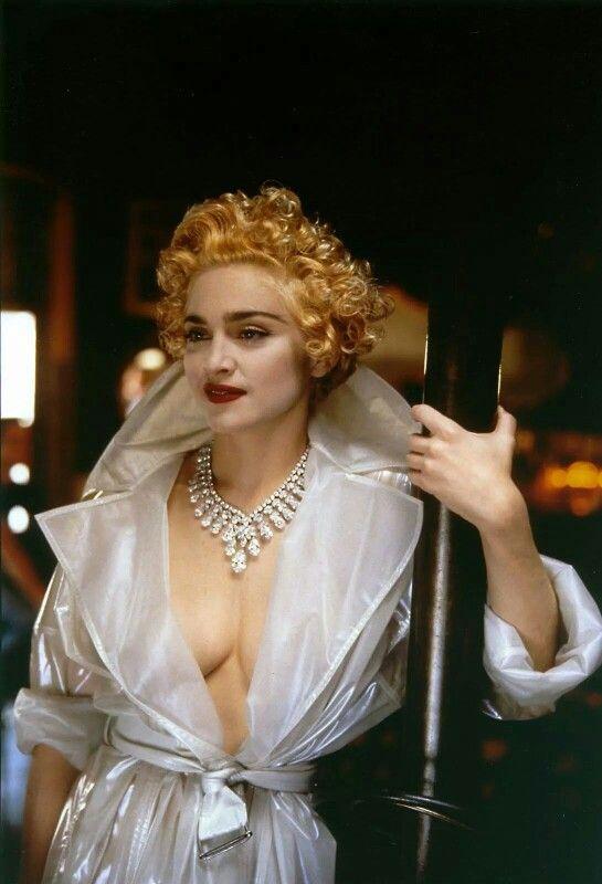 Madonna by Helmut Newton 1990