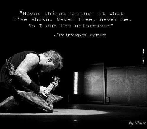 The Unforgiven - Metallica.