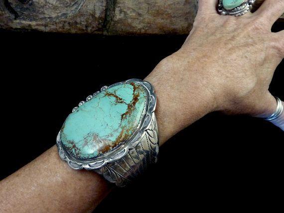 Big Daddy 147g Vintage Navajo Sterling by PoohsCornerOTheWorld