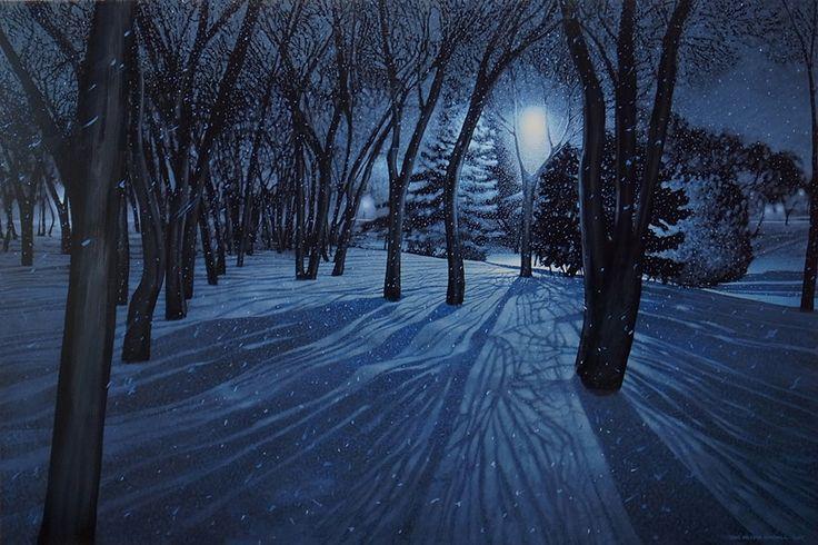 Sean William Randall, 'Night Walk' at Mayberry Fine Art
