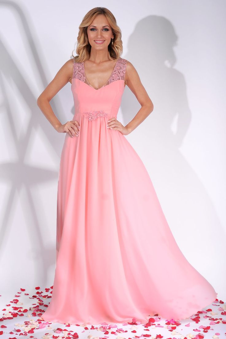 Long evening gown in rose quartz hues made from fine veil: https://missgrey.org/en/dresses/long-evening-dress-veil-and-lace-rose-quartz-scarlett/556?utm_campaign=august&utm_medium=rochie_scarlett_rose_quartz&utm_source=pinterest_produs