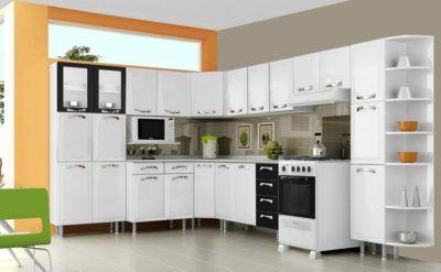 cozinha planejada itatiaia de metal