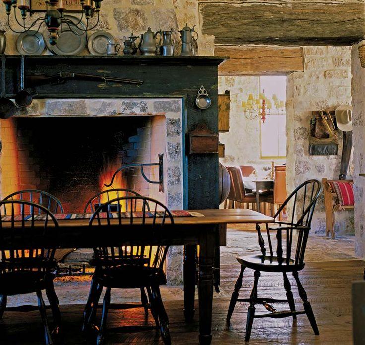 Prim Decor, Primitive Decor And Primitive Fireplace