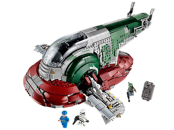 Lift off for bounty-hunting adventures in the <i>Slave I</i>™!  Great decoration for the bedroom! My husband would love it!!