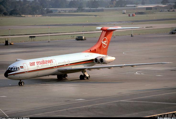 Air Malawi Vickers aircraft