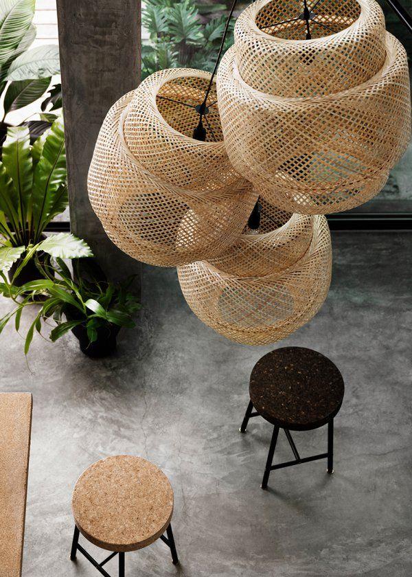 Suspension Sinnerling IKEA/ Suspension: 15 idées déco pour illuminer son intérieur - Marie Claire Maison
