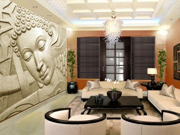 Buddha Peaceful Corner Zen Home Decor Interior Styling: 25+ Best Ideas About Zen Living Rooms On Pinterest