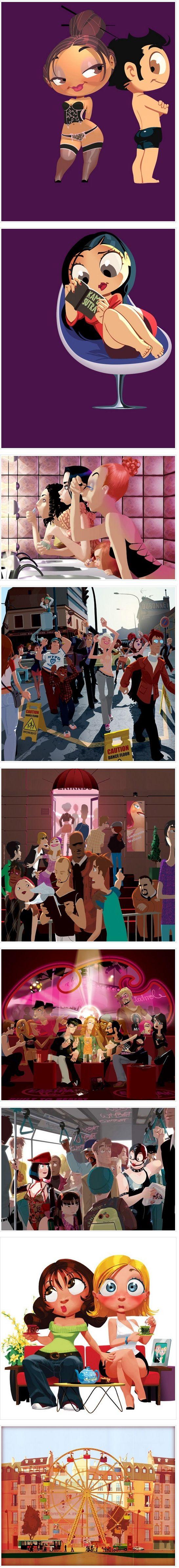 Arthur de Pins   http://www.arthurdepins.com/    http://www.designinabox.com.br/2012/06/arthur-de-pins-2/?utm_term=Design,+Inspira%C3%A7%C3%A3o_source=twitterfeed_medium=twitter