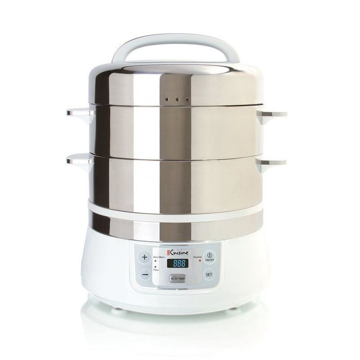 Euro Cuisine Stainless Steel Electric Food Steamer - FS2500