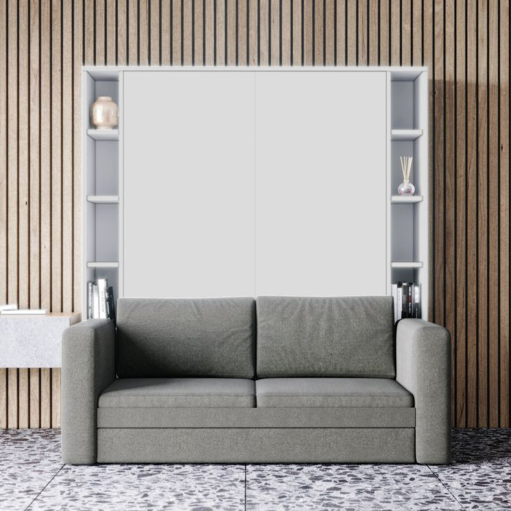 Wall Bed Murphy Couch, Space Saving Queen Sofa Bed