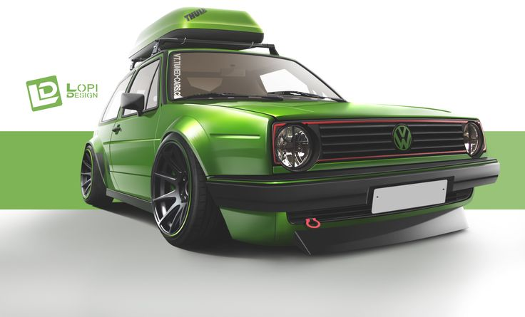 volkswagen golf mk2 by Lopi-42.deviantart.com on @deviantART