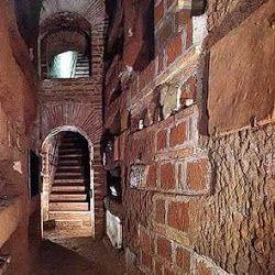 Catacumba San Calixto en Roma.