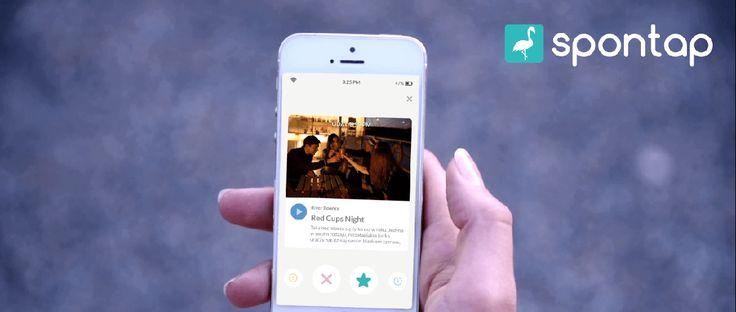 Omijają cię ważne ciekawe wydarzenia w okolicy? Skorzystaj z aplikacji Spontap dla imprez.  Aplikacja działa w prosty sposób. Podobnie jak w Tinderze otrzymujemy kolejno następujące po sobie ekrany, z tym, że nie z osobami, a z wydarzeniami – przesunięcie w prawo oznacza zapisanie wydarzenia na swojej tablicy, a przesuniecie w lewo jego usunięcie. Tablica