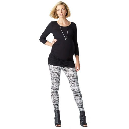Leopard print legging #ohswag #stylishmamas #mamafashion
