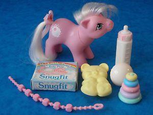 Vintage My Little Pony Baby Tiddlywinks 1980's G1 MLP
