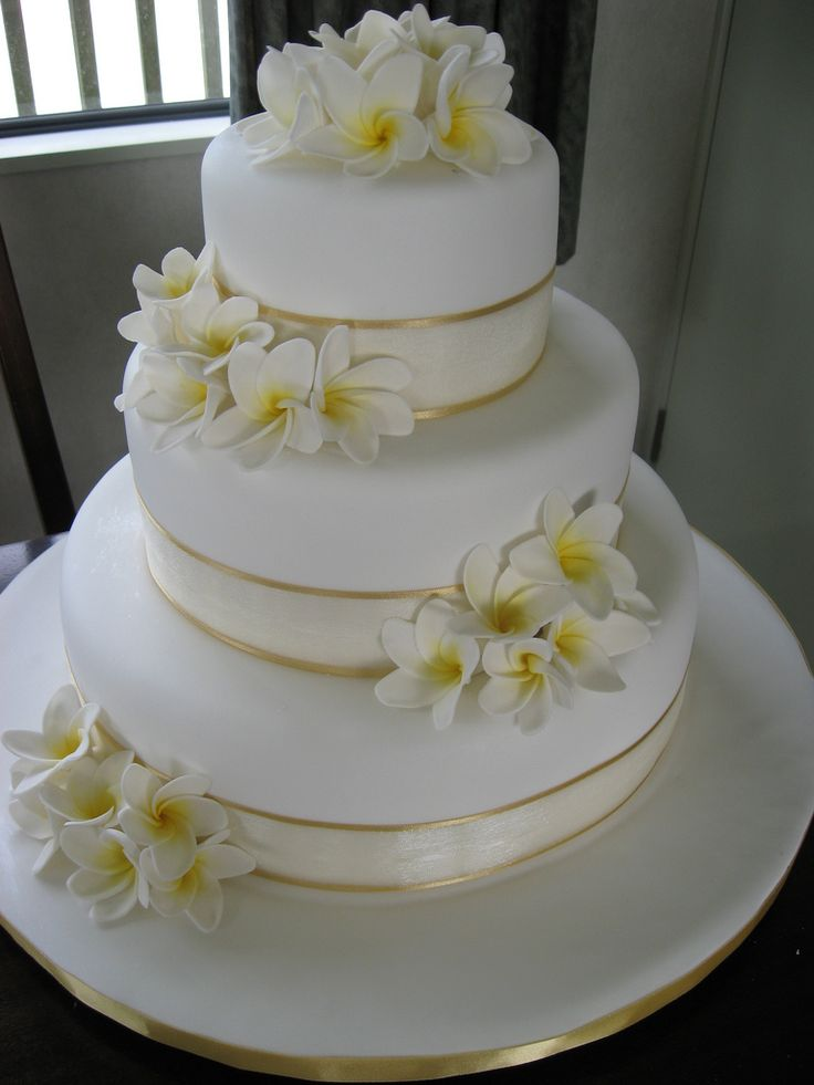 island wedding cakes plumeria wedding ideas のおすすめ画像 44 件 花嫁 16499