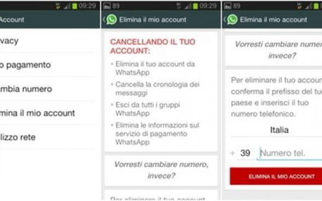 Come cancellare l'account di WhatsApp #whatsapp #account #cancellare #eliminare
