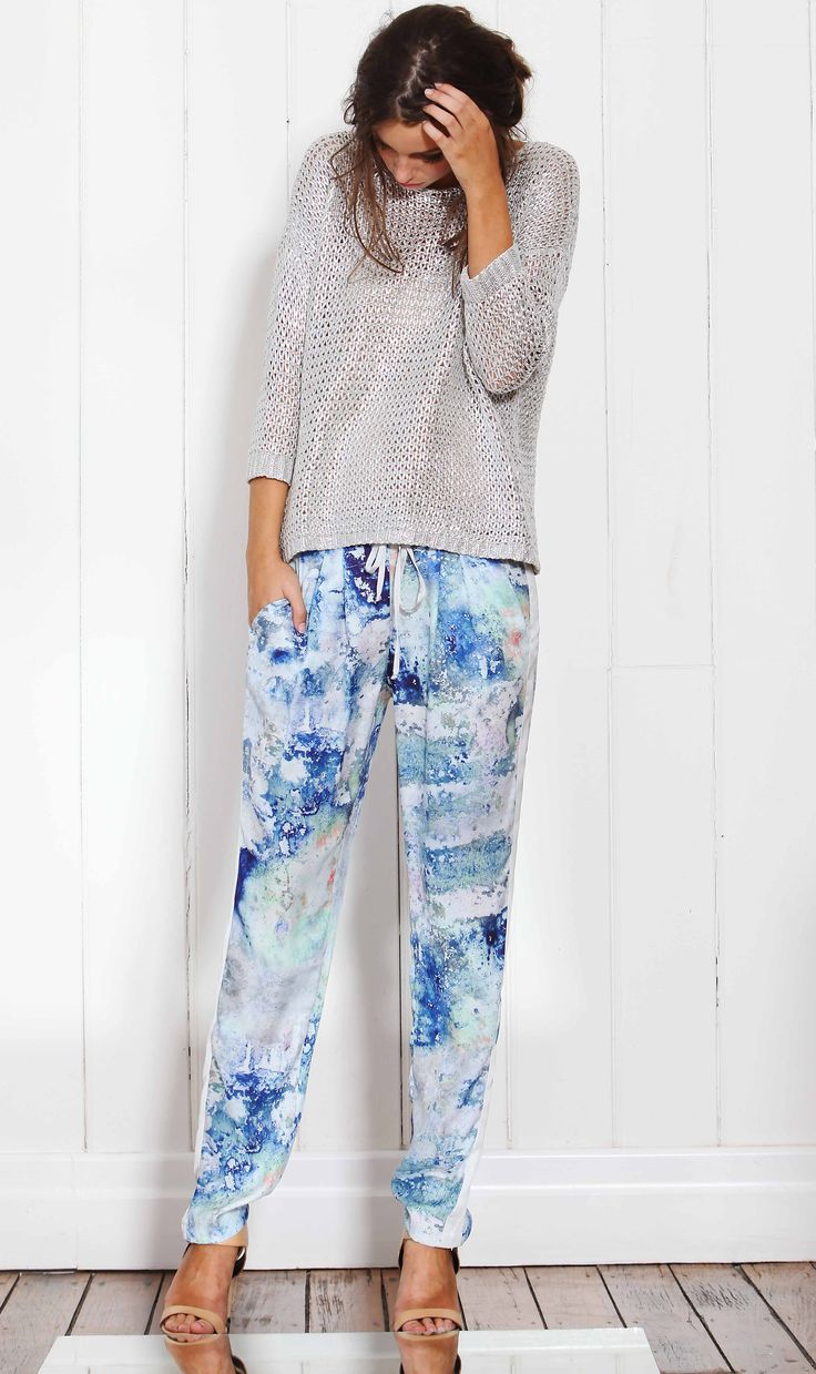 #Patterned pants huge this season