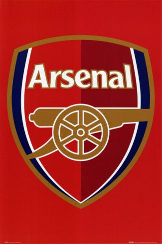 Arsenal Football Club - Club Badge Poster from http://AllPosters.com - #Arsenal #Quiz  #Arsenal