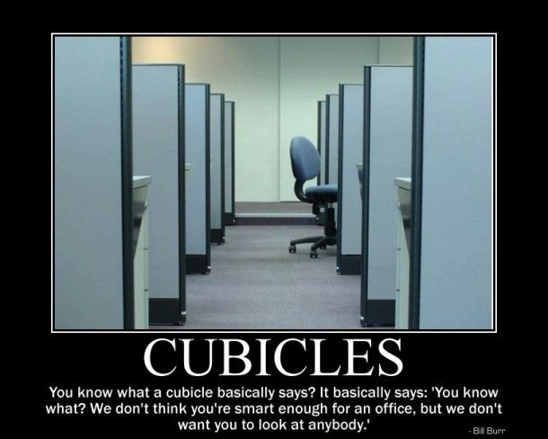 Cubicles - Meme Guy | Funny | Pinterest | Funny, Cubicles ...