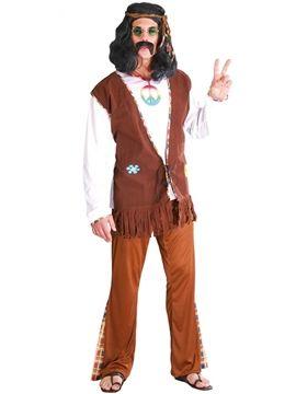 Disfraz Hippie Flower Adulto