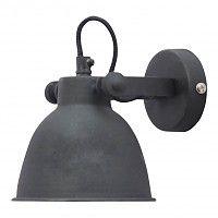 wandlamp industrieel vintage zwart - 12 cm