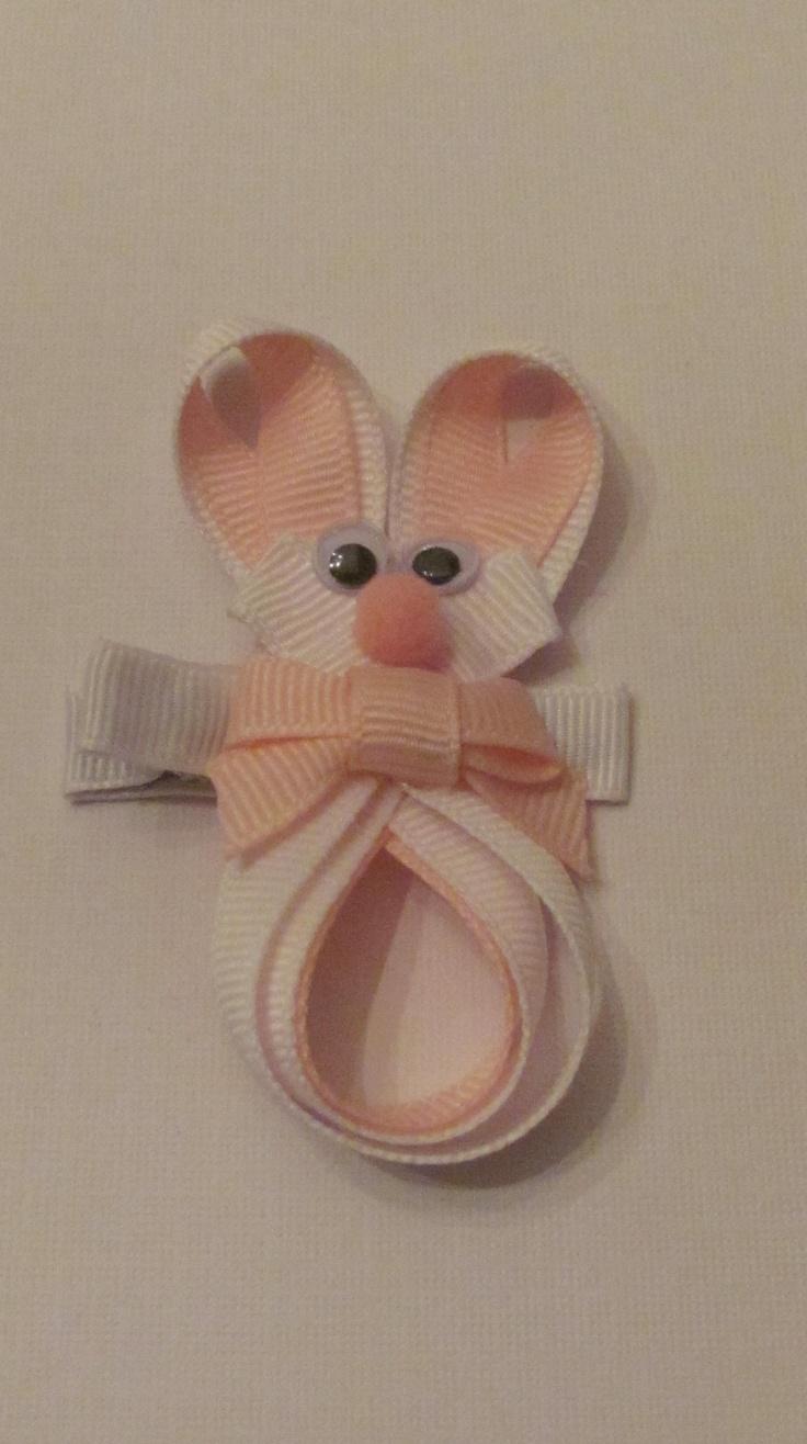 Bunny Clip $3.00                                  Hairbows