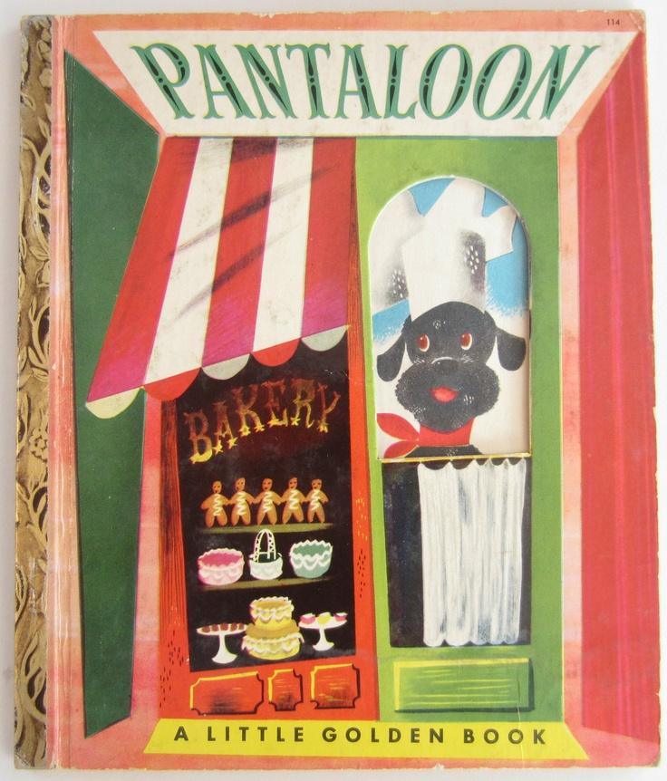 Pantaloon Little Golden Book Leonard Weisgard First A border=