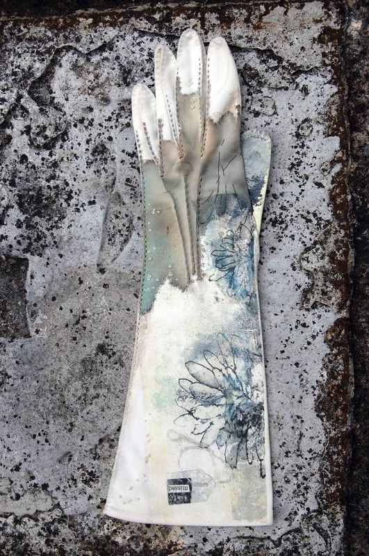 """Mandy Pattullo - """"A preoccupation with place, memory and absence. Work made in response to Jesmond's Victorian cemeteries for a solo exhibition in Gateshead 2008."""""""