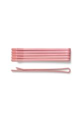 <p>The Flat Bobby Pins are a set of practical hair accessories made of painted metal.</p>
