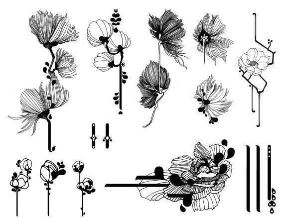 Soft Opium / Exquisite Vanity  Temporäre Tattoos für die Haut #Tattoos #exquis…