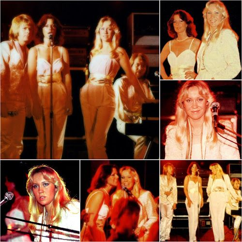 "A few pictures taken during the filming of the video for Abba's single ""Does Your Mother Know"" which started today in 1979... #Abba #Agnetha #Frida http://abbafansblog.blogspot.co.uk/2017/04/abba-video.html"