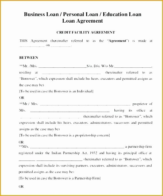 Lending Money Contract Template Free Best Of Bridge Loan Agreement Template Simple Loan Agreement In 2020 Personal Loans Contract Template Rental Agreement Templates
