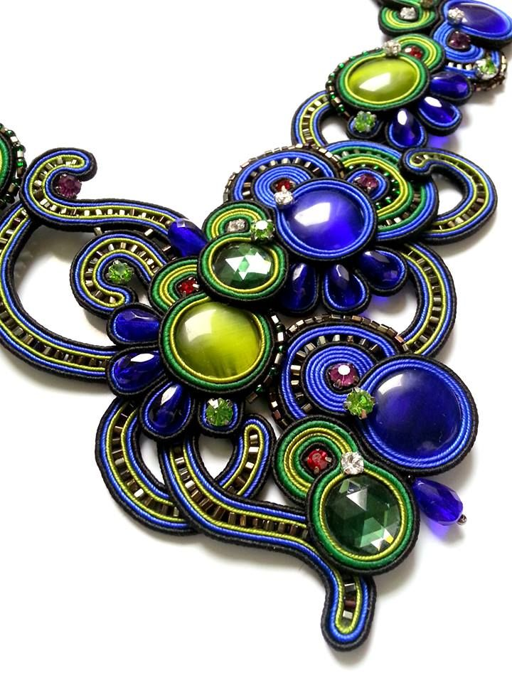 soutache - necklace  mishtiart.blogspot.com - follow me! :)