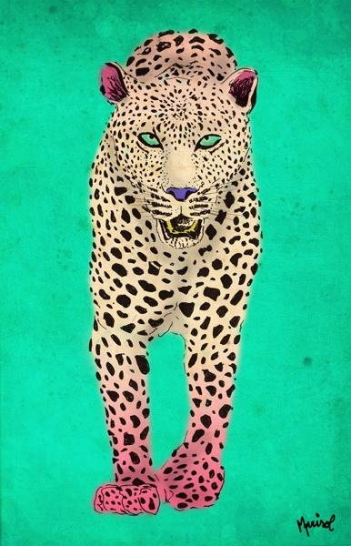 New leopard. Si te interesa la ilustración podes escribirme a sol.dlvega@gmail.com.  If you like the illustration, please send me an email sol.dlvega@gmail.com