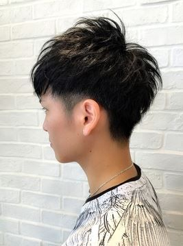 メンズ向け 絶壁をカバーして頭の形をきれいに見せる髪型 ヘア