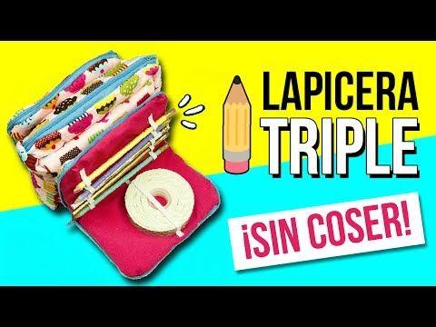 ESTUCHE Casero KAWAII Estilo KIPLING * DIY Maletín Lapicera PUSHEEN Útiles Escolares REGRESO A CLASE - YouTube