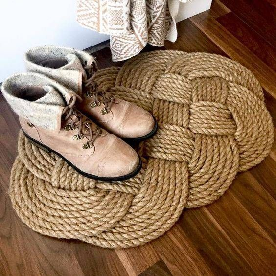 25 best ideas about rope rug on pinterest diy rugs for Rope projects