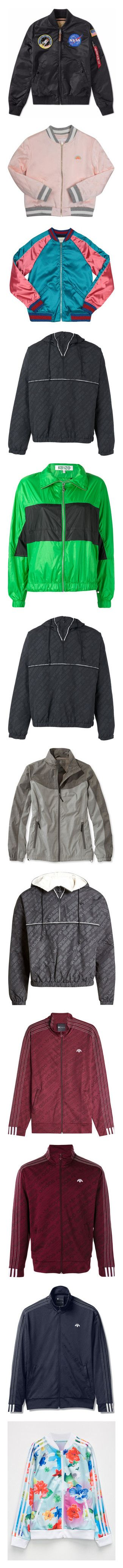 """Jackets & Coats & Blazers 8.0"" by jaekoreoz ❤ liked on Polyvore featuring men's fashion, men's clothing, men's outerwear, men's jackets, mens nylon jacket, mens nylon bomber jacket, outerwear, jackets, sweaters and tops"