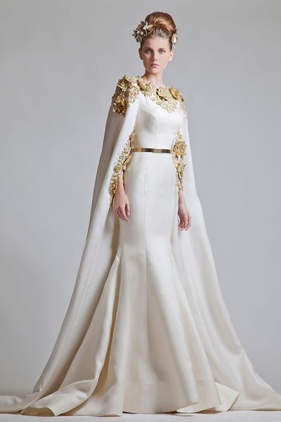 Krikor Jabotian - Couture - 2013 collection http://en.flip-zone.com/fashion/couture-1/independant-designers/krikor-jabotian-3388