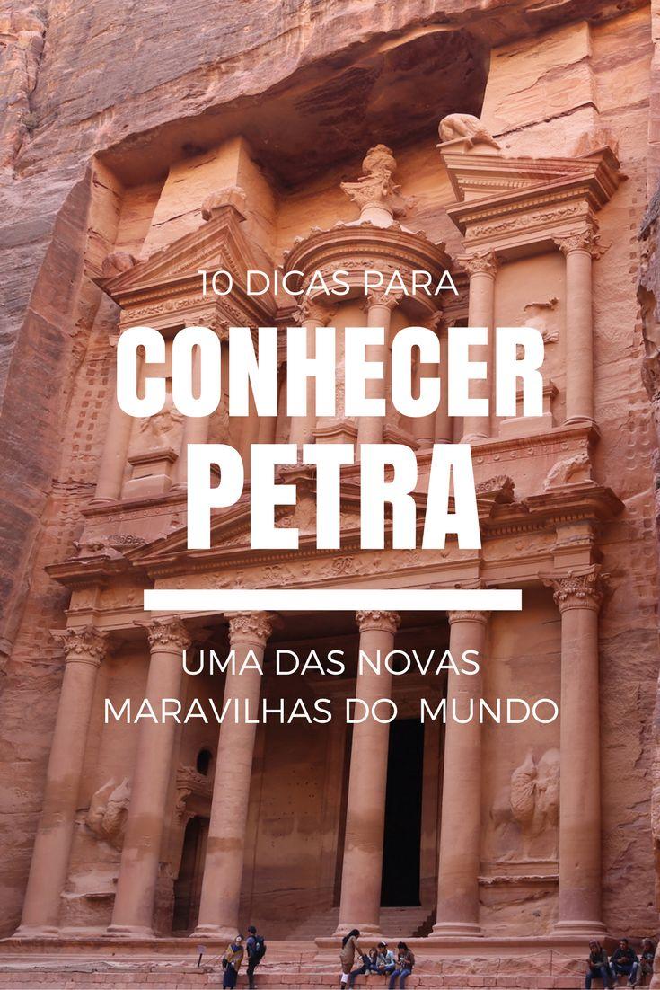Quer conhecer Petra, uma das novas maravilhas do mundo, mas não sabe como começar a planejar a viagem? Então confira esse post com 10 dicas contando TUDO sobre esse destino incrível: http://www.viagememdetalhes.com.br/10-dicas-para-conhecer-petra/