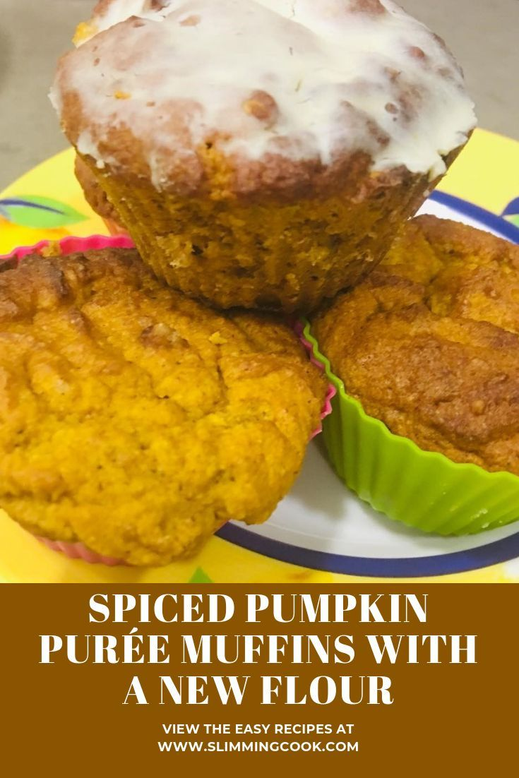 Muffins à la purée de potiron épicés avec une nouvelle farine #dessert #pumpkin #muffins #ketog …   – Keto Diet Group Board