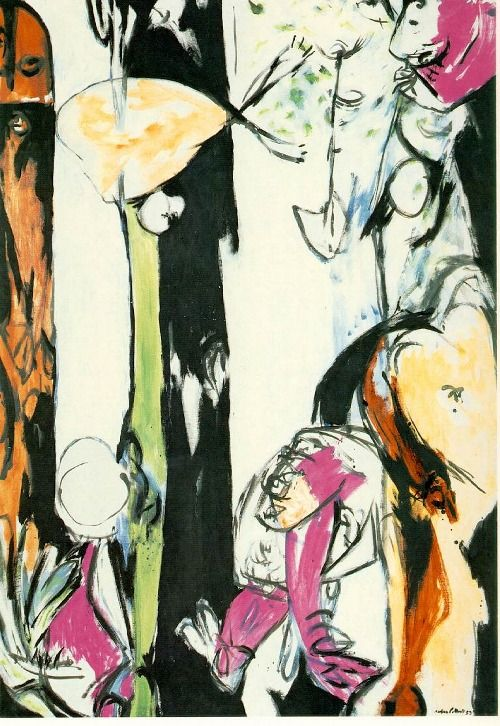 Easter and the Totem ~ Jackson Pollock