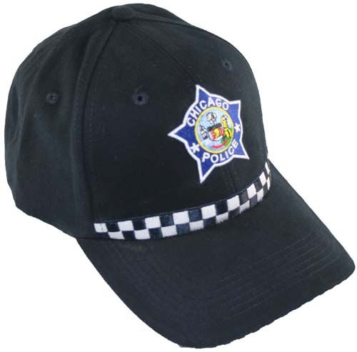 7029 Chicago Police Hat 2 Chicago Fire Department And
