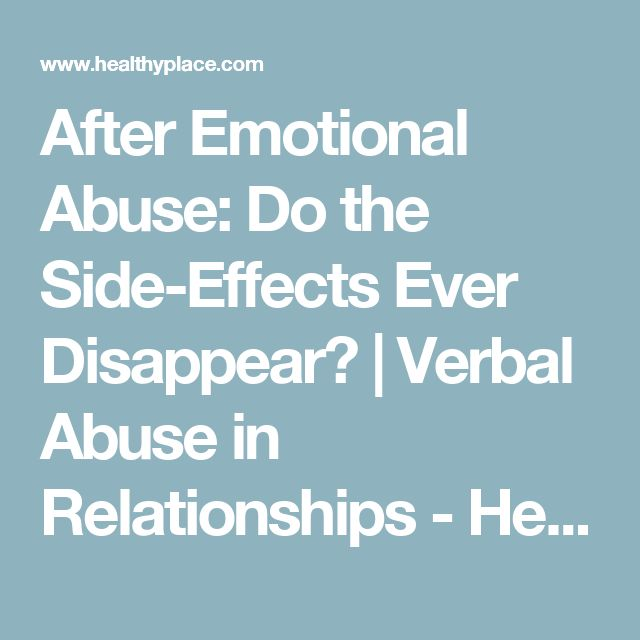 Effects of dating violence for adults