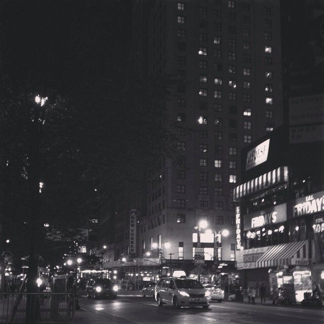 Late night, Eight Avenue, New York